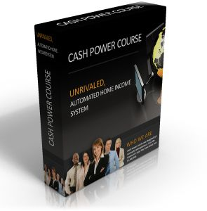 The creators of Cash Power Course took their combined knowledge of creating wealth, and developed a course designed to teach anyone how to duplicate their steps and make money from home. Reviews http://mmgonlineinfo.com/welcome-to-cash-power-course/