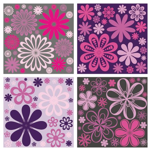 papel en color lila
