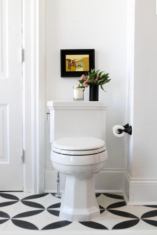 One Bathroom, Three Styles: Bright & Cheerful