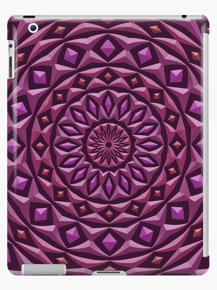 A mandala made of rings with diamond highlights, each has a stone texture and 3d appearance. • Also buy this artwork on phone cases, apparel, stickers, and more.