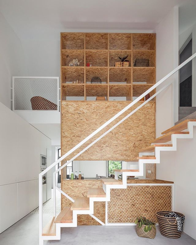 Inspirational Stairs Design: 12 Best Painted Osb Images On Pinterest