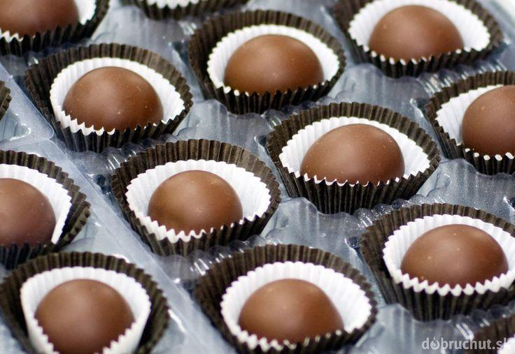 Čokoládovo-kávové guľky