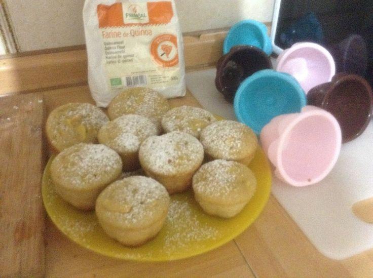 Muffins di mele e mandorle