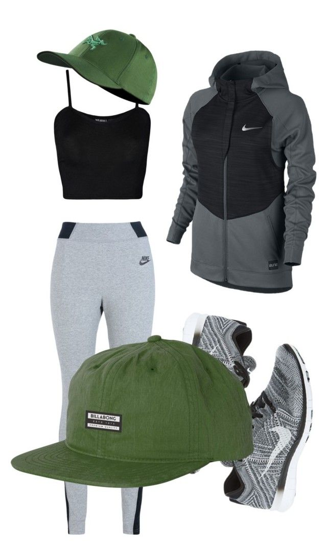 """Untitled #18"" by ann-joseph on Polyvore featuring NIKE, WearAll, Arc'teryx, Billabong, women's clothing, women's fashion, women, female, woman and misses"