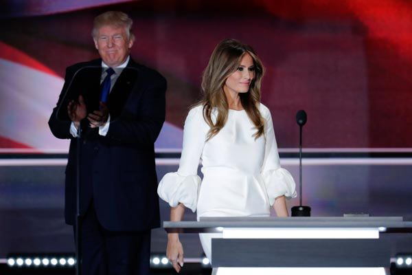 RNC: Melania Trump — Donald Trump Will Lead All the People, Not Just Some of Them