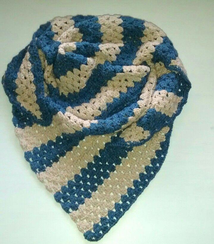 Cuello pico crochet