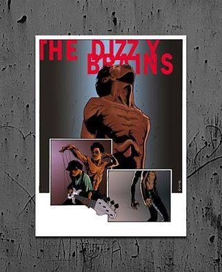 Révélation Rock de l'année, les malgaches The Dizzy Brains en tournée en France à partir du 13 mai 2016 - The finger Up Tour Les dates sont aussi dans les AGENDAS de Madagascar-musiques.net…