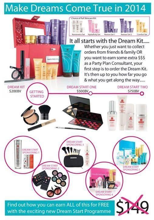 It all starts with a Nutrimetics Dream Kit $0.00 upfront! www.nutrimetics.com.au/laurenpollard