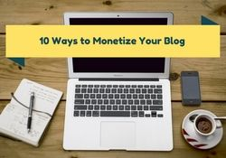 10 Ways: How to Make Money Blogging  So many people ask me how I make money online blogging... well this list sums it up!   #MakeMoneyBlogging #GuestPost #MonetizeBlogs