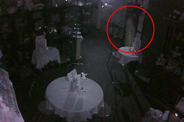 Ghostly apparition caught on camera at Perth tearoom hailed as best evidence of paranormal in 10 years