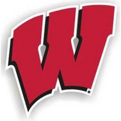 Wisconsin Badgers NCAA 12 Car Magnet