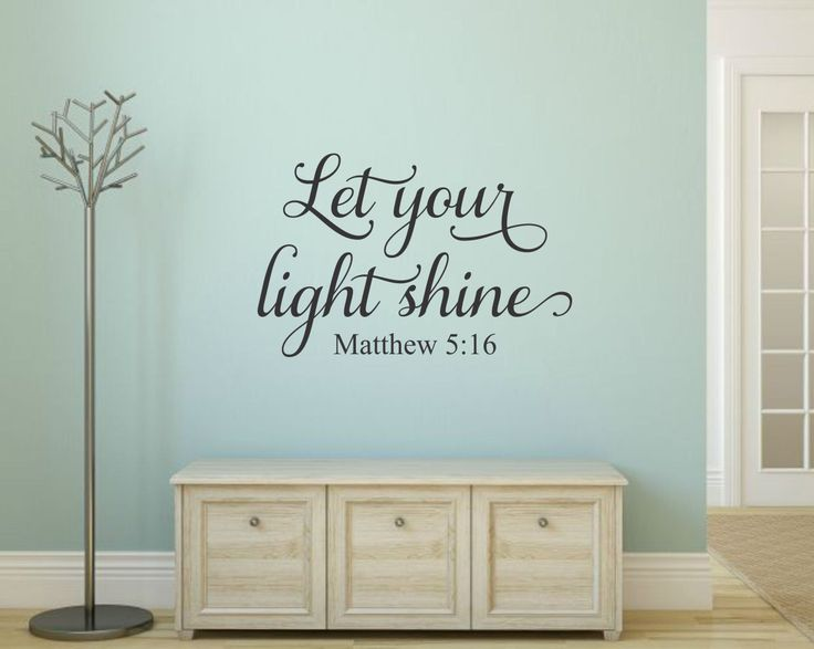 Top 25 ideas about christian wall decals on pinterest for Christian wall mural