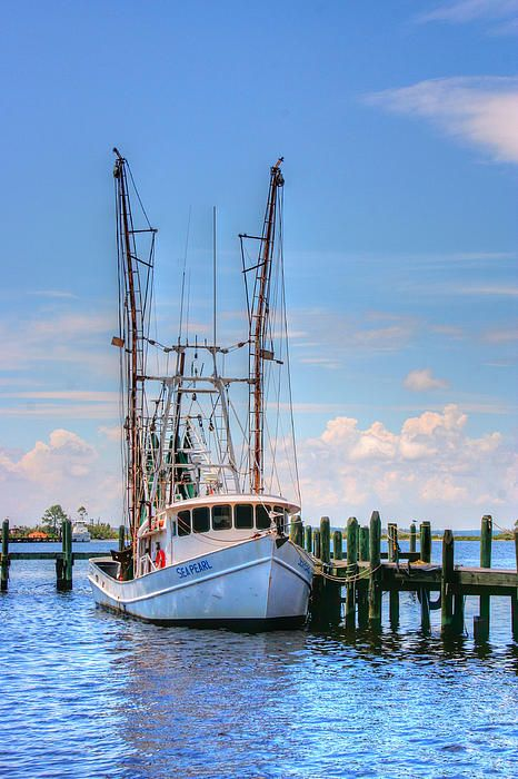 Shrimp Boat at Dock