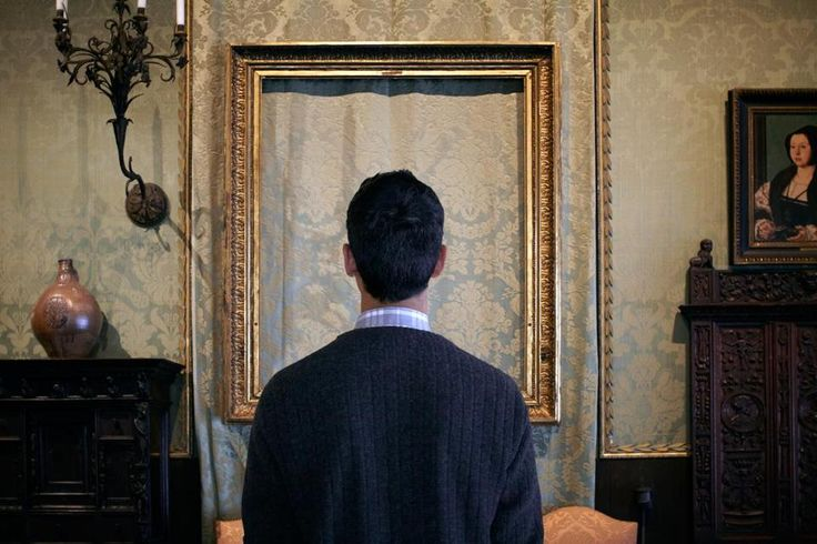 """""""Most of the pictures in [the Dutch Room] are portraits. Maybe the missing pictures show us someone who died."""" Greg, 8th Grade"""