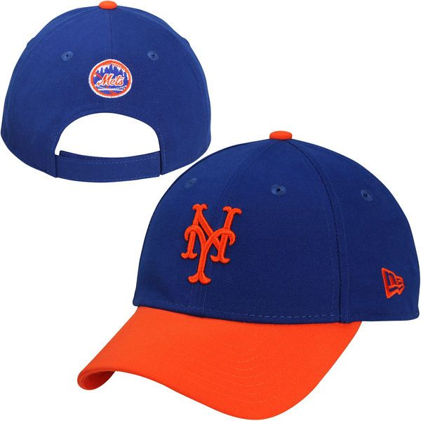 Men's New York Mets New Era Royal The League 2-Tone Adjustable Hat, $17.99 http://shareasale.com/m-pr.cfm?merchantid=62865&userid=646297&productid=620662612&afftrack=