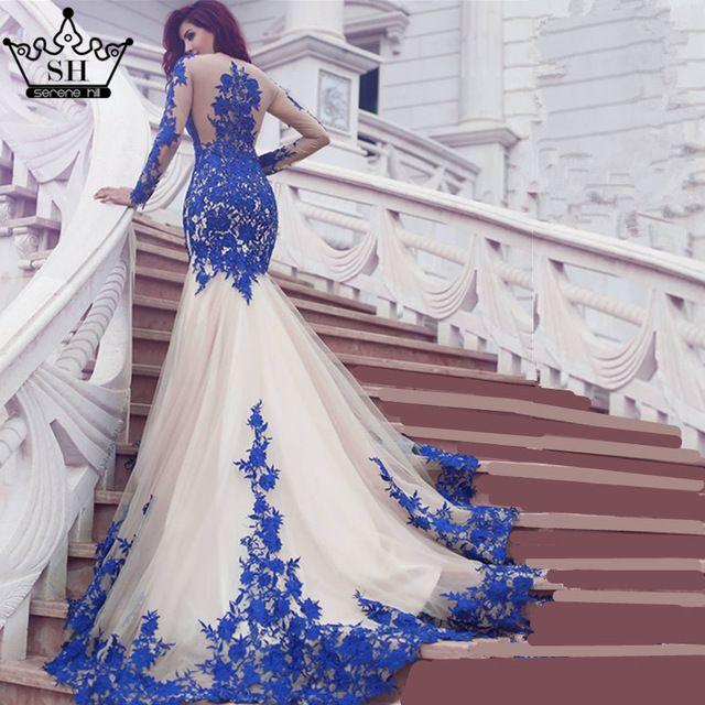 Suknie ślubne kolor i białe suknie z koronkami, suknie z haftem