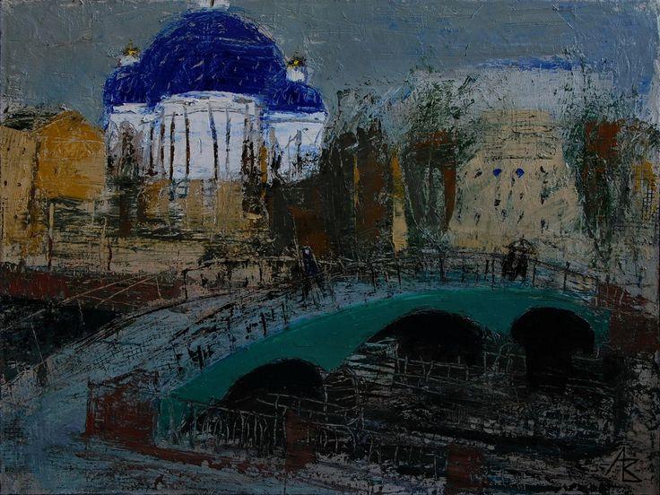 Painting-St. Petersburg - alexander volkov