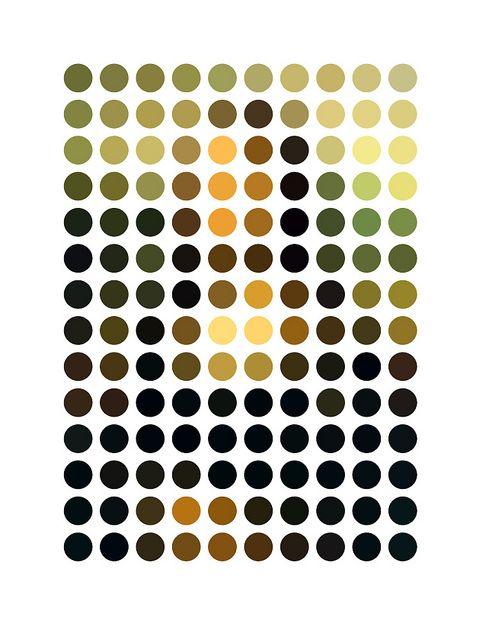 Mona Lisa, no?: Lisa Remix, Geometric Art, Mona Lisa, Gary Andrew, Art Prints, Graphics Design, Andrew Clarks, Monalisa, 13 Art