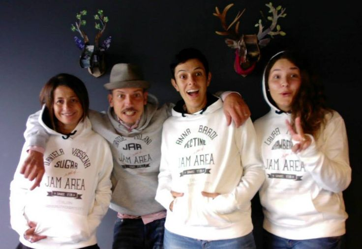 Jam Area new sweatshirt from sketch to digital!