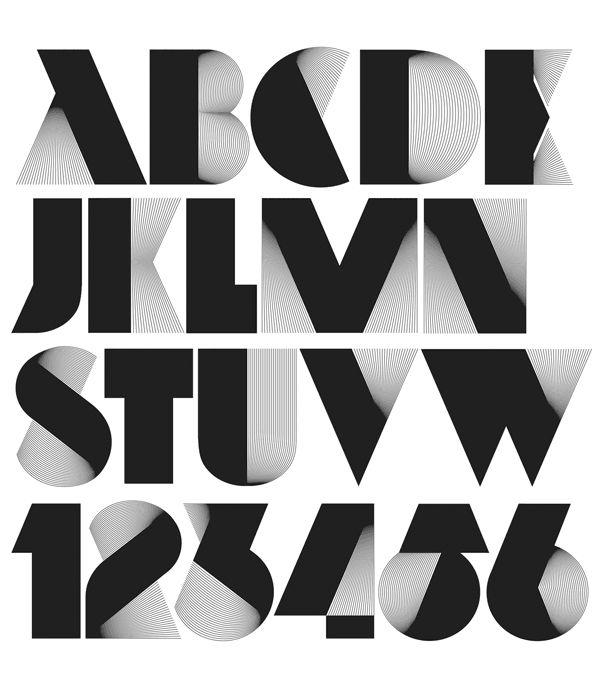typography tuesday neo deco font by alex trochut art deco