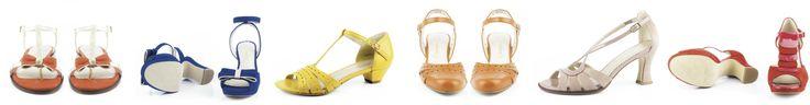Preciosos zapatos que enamoran por su feminidad y simplicidad. Zapatos con un aire retro vintage ideales para cualquier ocasion.