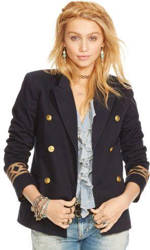 Ralph Lauren Denim & Supply Formal Naval Blazer