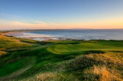 What a wonderful place to play golf, pity I can't play!! But it was beautiful. Ballybunion, Co.Kerry, Ireland.