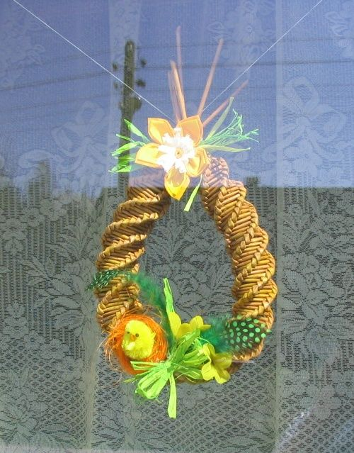 moje tvořeníčko - Fotoalbum - PLETENÍ Z PAPÍRU 2009 - Velikonoční pletení