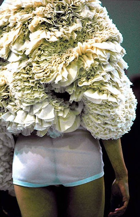 An oldie , but a goodie........ Comme des garcons spring 2000