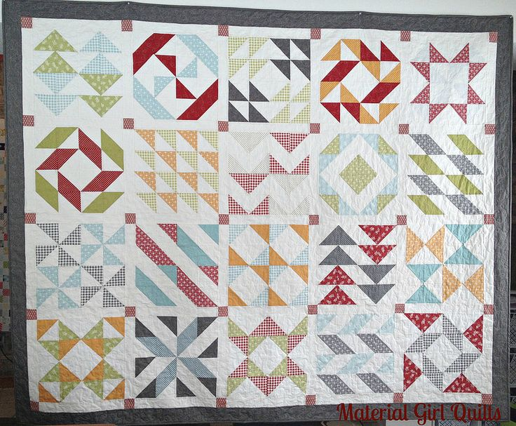 26 best images about Layer Cake Sampler QAL on Pinterest