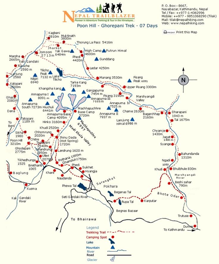 a better Annapurna circuit map