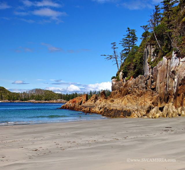 West Coast of Calvert Island, British Columbia