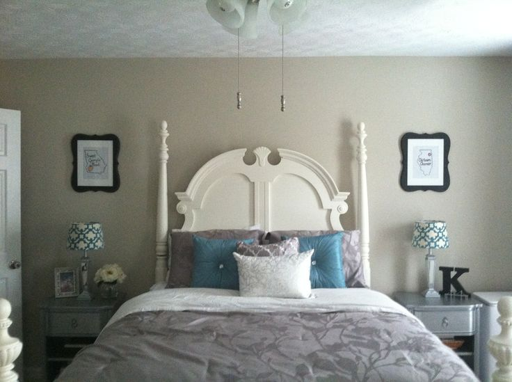 Teal Bedroom Design Ideas Colors Bedrooms Country Livi A Teal And White