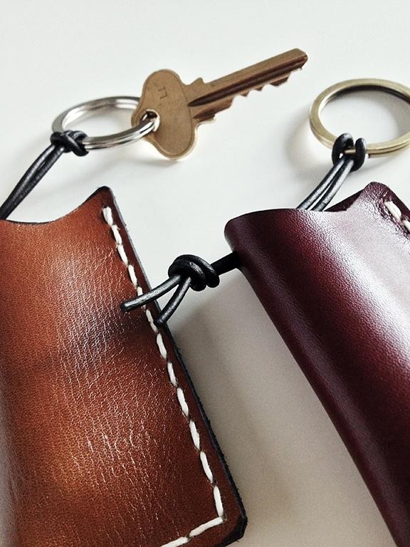 Leather Accent Tag - Tag A-K by VIDA VIDA Buvbz