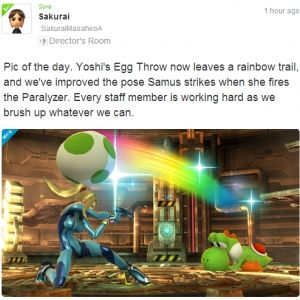 Strike a pose with trophies in Super Smash Bros for Wii U -  Say cheese, Super Smash Bros. for Wii U - you're getting a photo mode. According to a new post from Game Director Masahiro Sakurai on the Super Smash Bros. Miiverse, players of