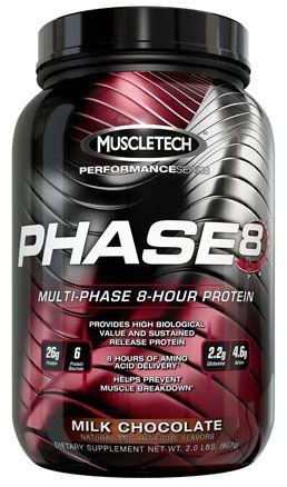 Phase 8 2.0 lbs. Milk Chocolate Protein Powder