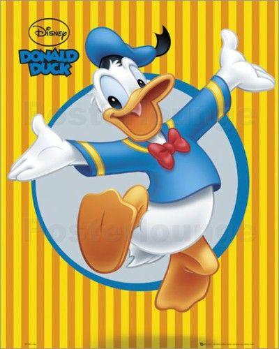 Wandbild von Donald Duck