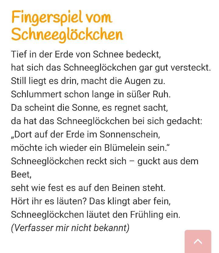 #fingerspiel #schneeglöckchen #kita #kindergarten #erzieher #lernen #literacy #frühling