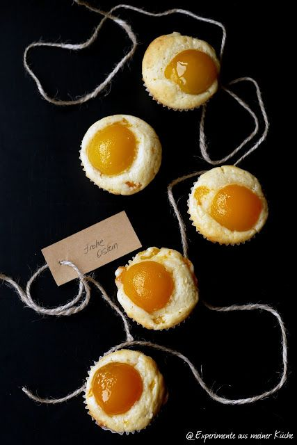 Aprikosen-Spiegelei-Muffins | Rezept | Backen | Ostern