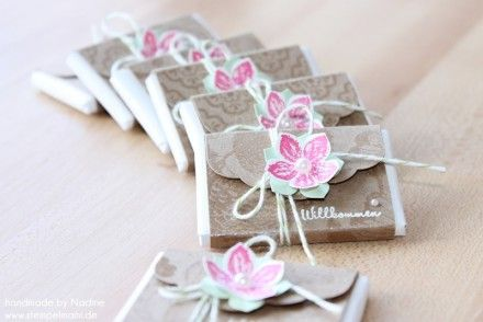 Goodie Stampin Up Verpackung Tag Give Away Gift Box 011