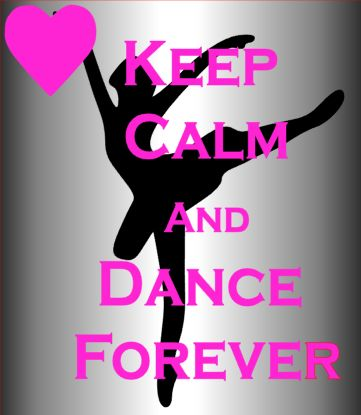 Blinged Keep calm and dance forever beach cheerleading dance towel 70x140cm