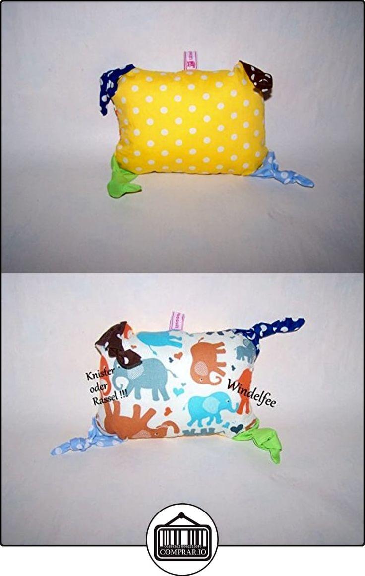 Sonajero Cojín Cojín Chupete, Juego, diseño elefante regalo para nacimiento, bautismo, Baby Party...  ✿ Regalos para recién nacidos - Bebes ✿ ▬► Ver oferta: http://comprar.io/goto/B01LBLW234