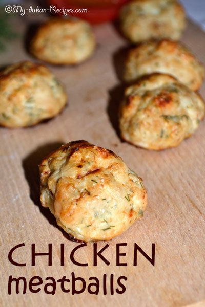 Chicken meatballs | DUKAN DIET RECIPES