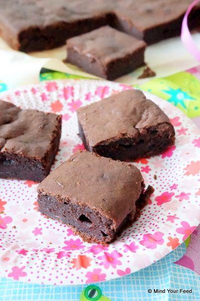 Brownie van speltmeel