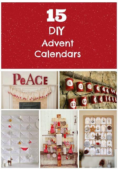 Diy Love Calendar : Great diy advent calendars i love the tin can one so