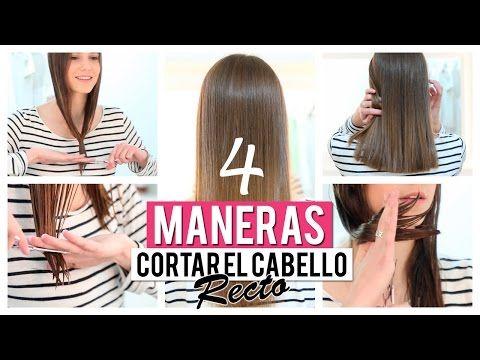 Cómo cortar el cabello recto | 4 opciones - Secretos de Chicas by Patry Jordan