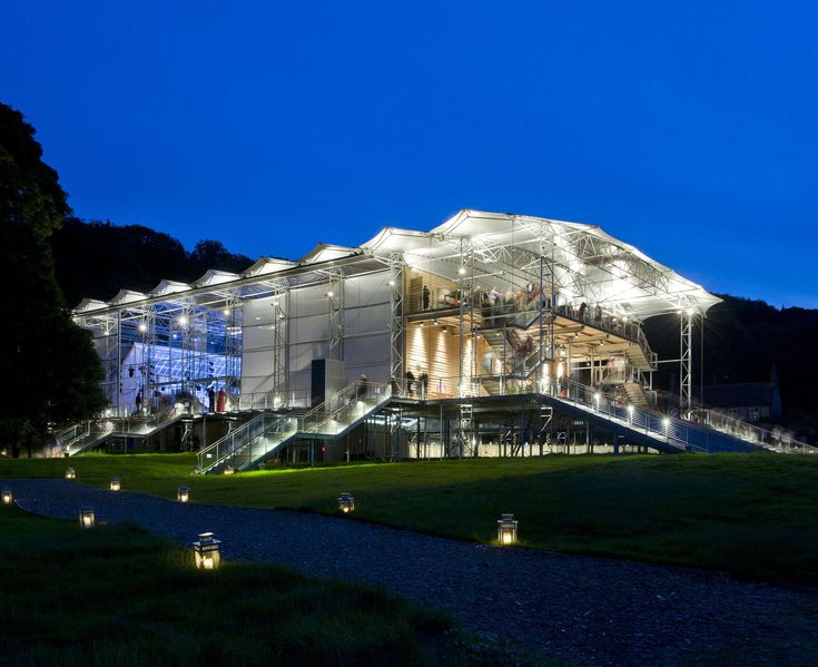 Garsington Opera Pavilion - Robin Snell and Partners