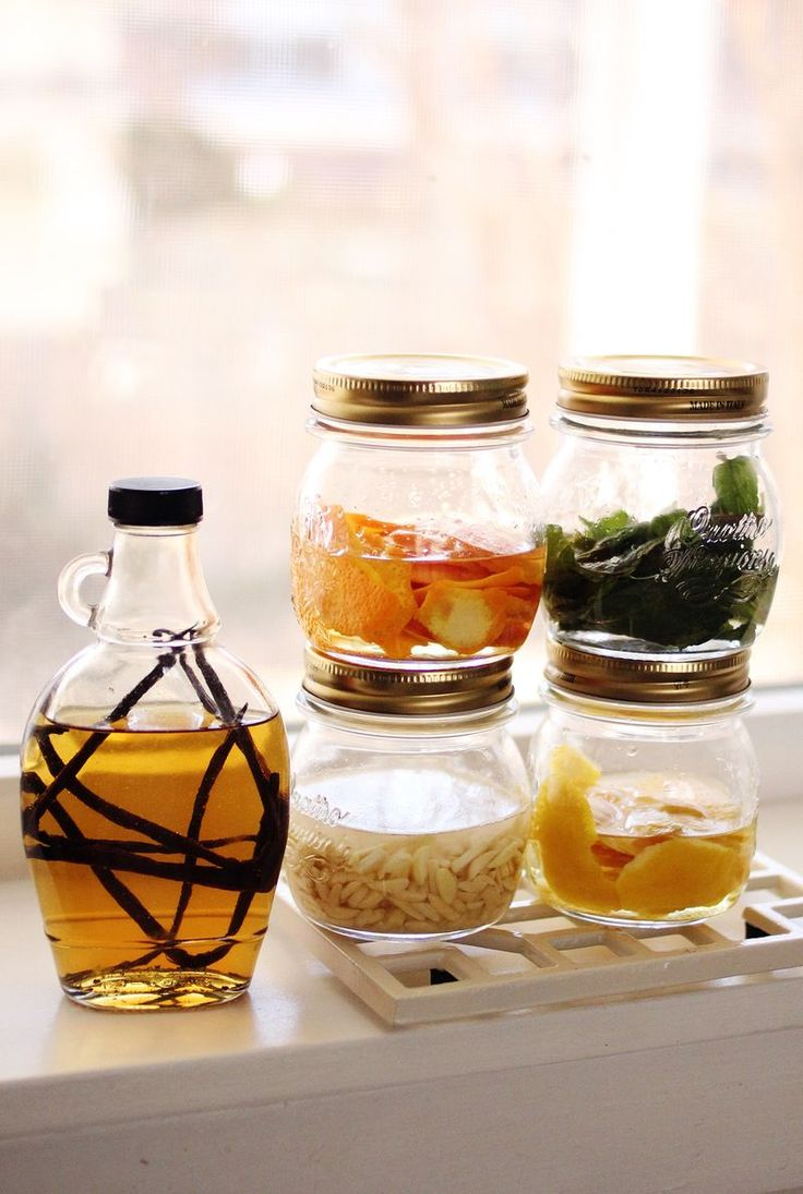 Homemade extracts (click through for recipes)
