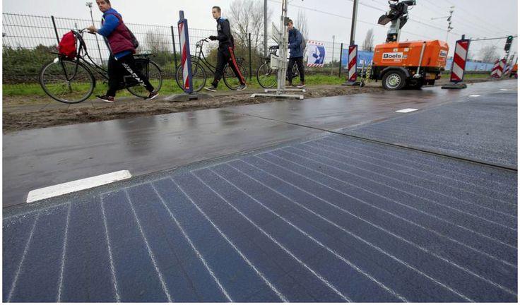 Estradas pavimentadas com painéis solares fotovoltaicos altamente resistentes serão construídas na França para a geração de energia elétrica a partir da absorção dos raios solares. Serão 1.000 km de estradas equipadas com a tecnologia projetadas especificamente para suportar tanto o trafego quanto as condições mais adversas do tempo, como neve ou chuva. A previsão é que cada quilometro beneficie 5 mil habitantes, o que significa que, 8% da população francesa, ao todo 5 milhões de pessoas…