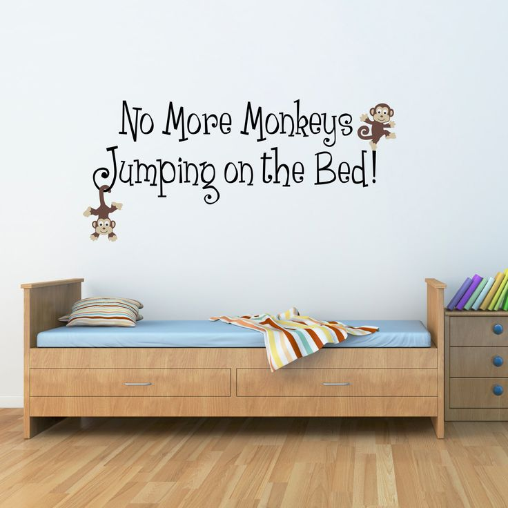 360 best for the love of kids images on pinterest ideas for Best 20 no more monkeys jumping on the bed wall decal